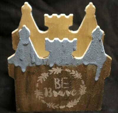 Be Brave Wooden Castle