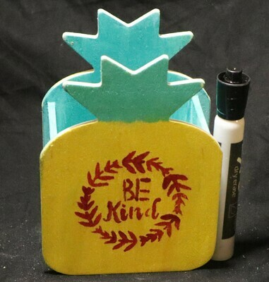 Be Kind Pineapple Wooden Box