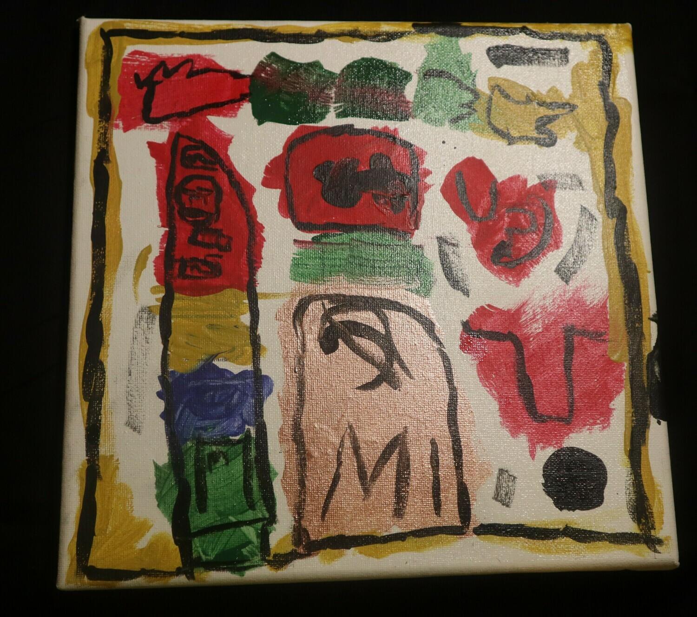 Million Dollar Painting Canvas Painting