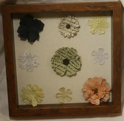 Flowers Shadow Box