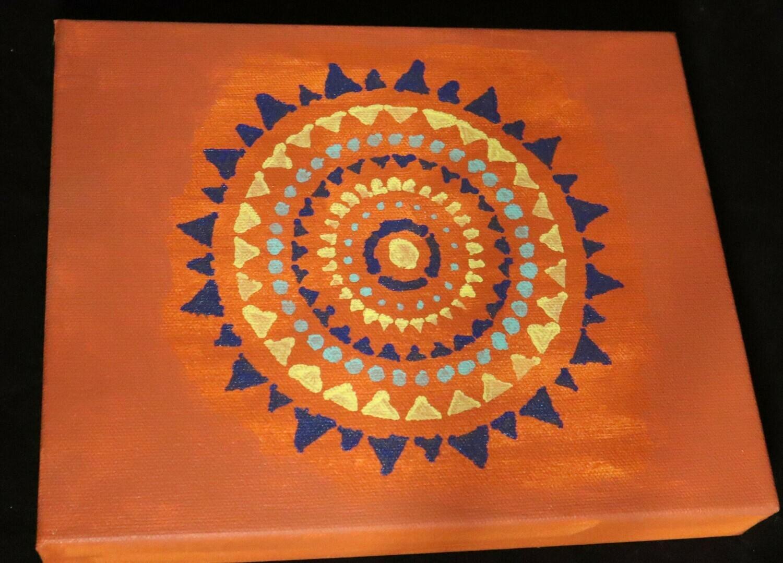 Orange You Painting