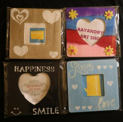 RayandRy's Art Set #3 | 4 Picture Frames