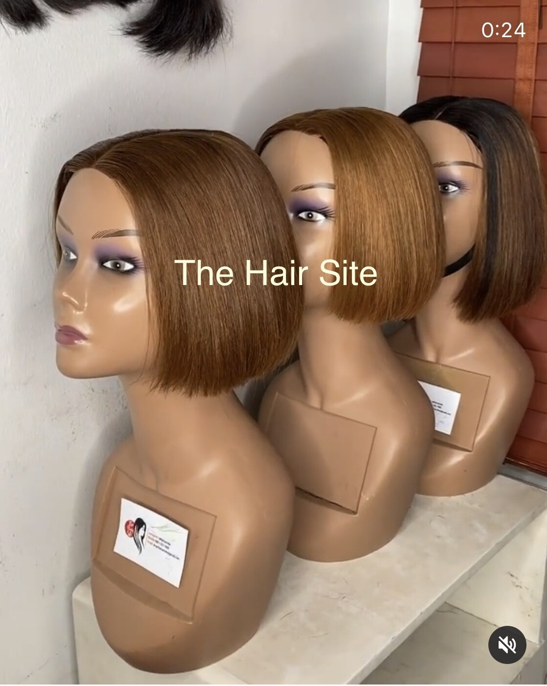 Honey Brown Closure Wig