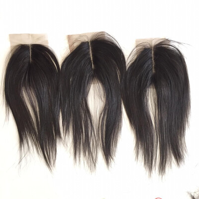 Raw Straight Closures (double drawn) 2