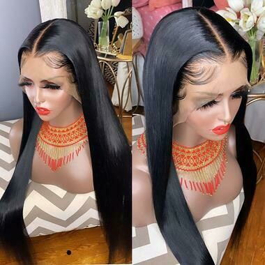 Asian Straight Frontal Wig