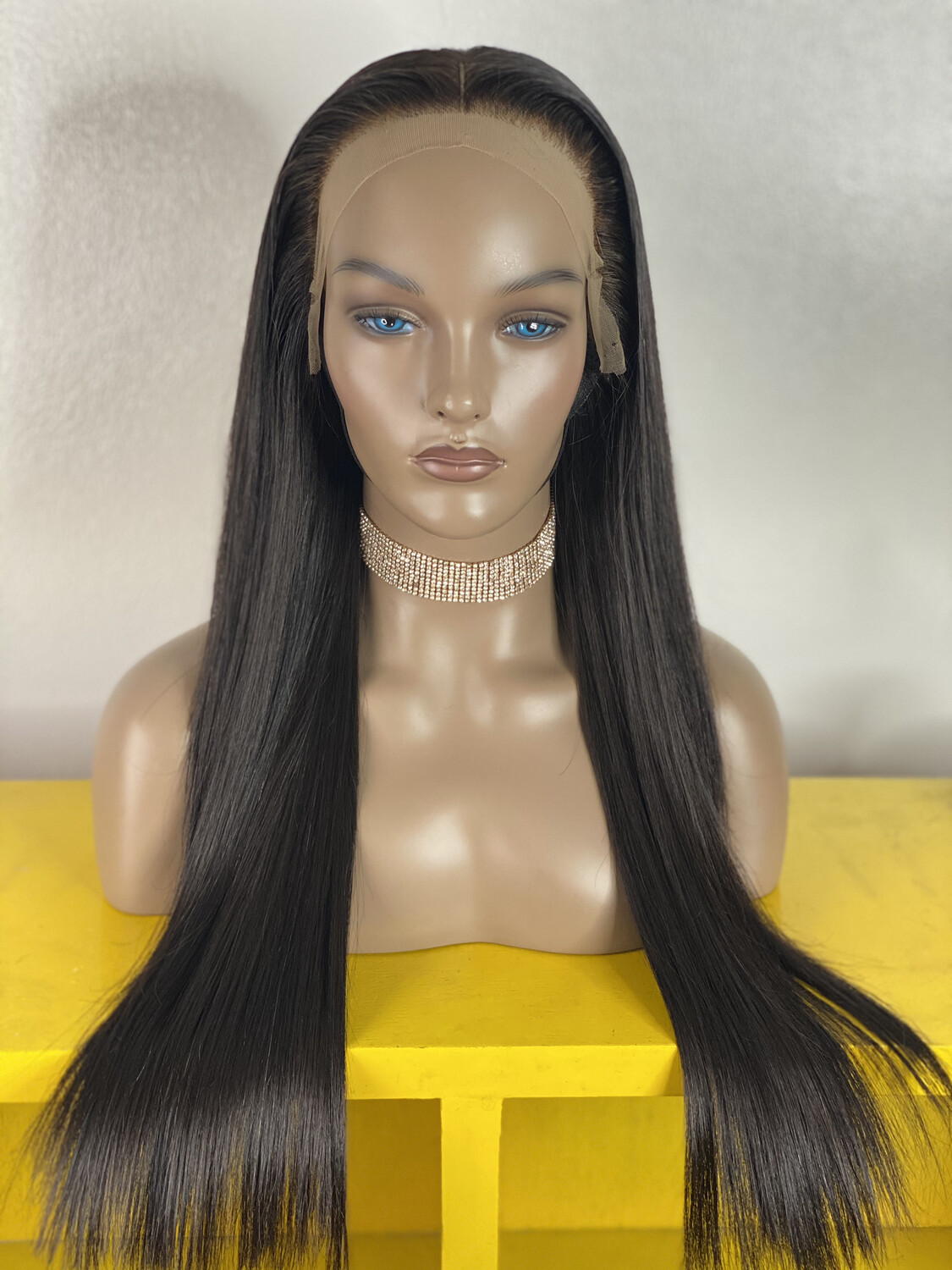 Luxury Straight Frontal Wig