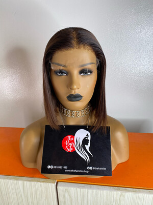 Chesnut Brown (5 By 5) Partial Frontal Wig