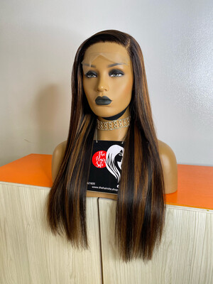 LILA Highlights (5 by 5) Partial Frontal Wig