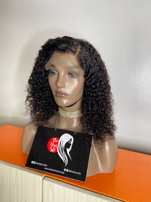 Eurasian Water Curls (7 By 4 )Closure Wig