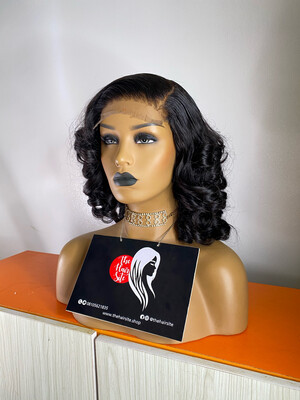 Sexy Bounce (5 By 5)  Partial Frontal Wig