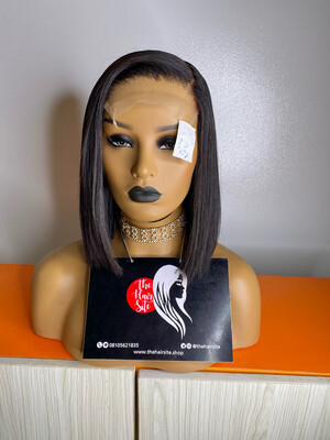 Blunt Cut Partial Frontal (5 By 5) Wig