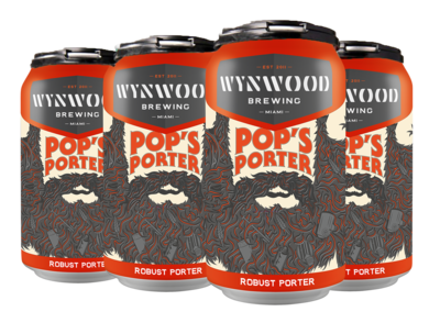 Pop's Porter Case (4-6Packs)