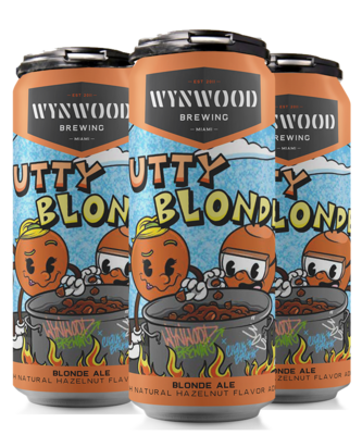 Nutty Blonde (16oz 4-Pack)