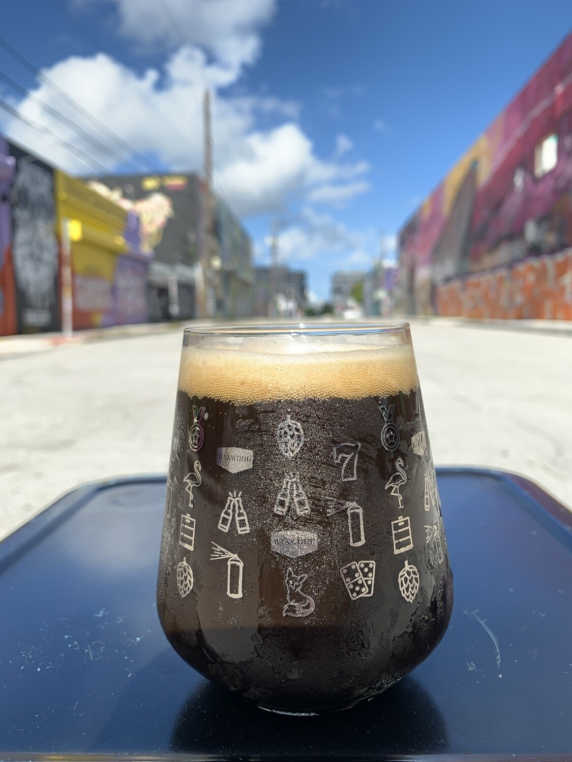 "Toda Stout ""Lucky 7"" Glass"