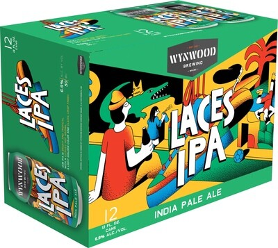 Laces IPA (12-Pack Cans)
