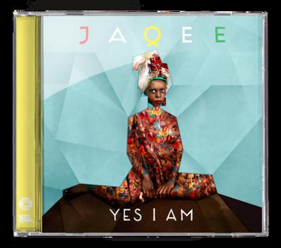 "Jaqee ""Yes I am"" CD Album"