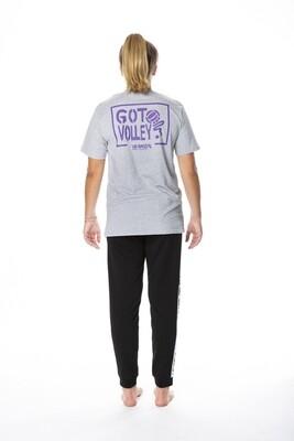 GOT VOLLEY GREY SHORT SLEEVE TEE
