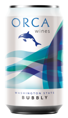 Orca Bubbly Wine