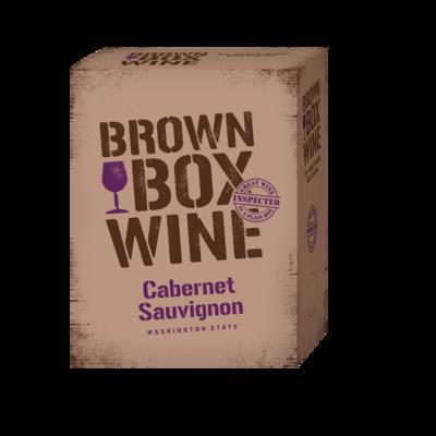 Brown Box Cabernet Sauvignon, case of three 3L boxes