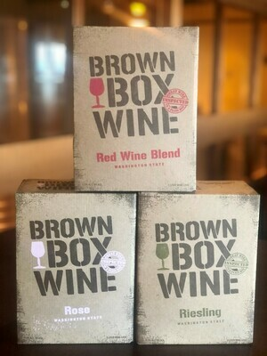 Brown Box Trio Pack, case of three 3L boxes
