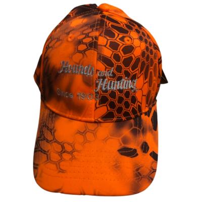 Orange Kryptek Fitted Caps