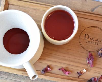 Brewed Hibiscus Tea 12 oz