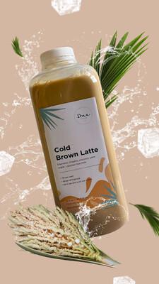 Cold Brown Latte - 32 Oz