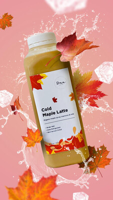 Cold Maple Latte - 32 Oz
