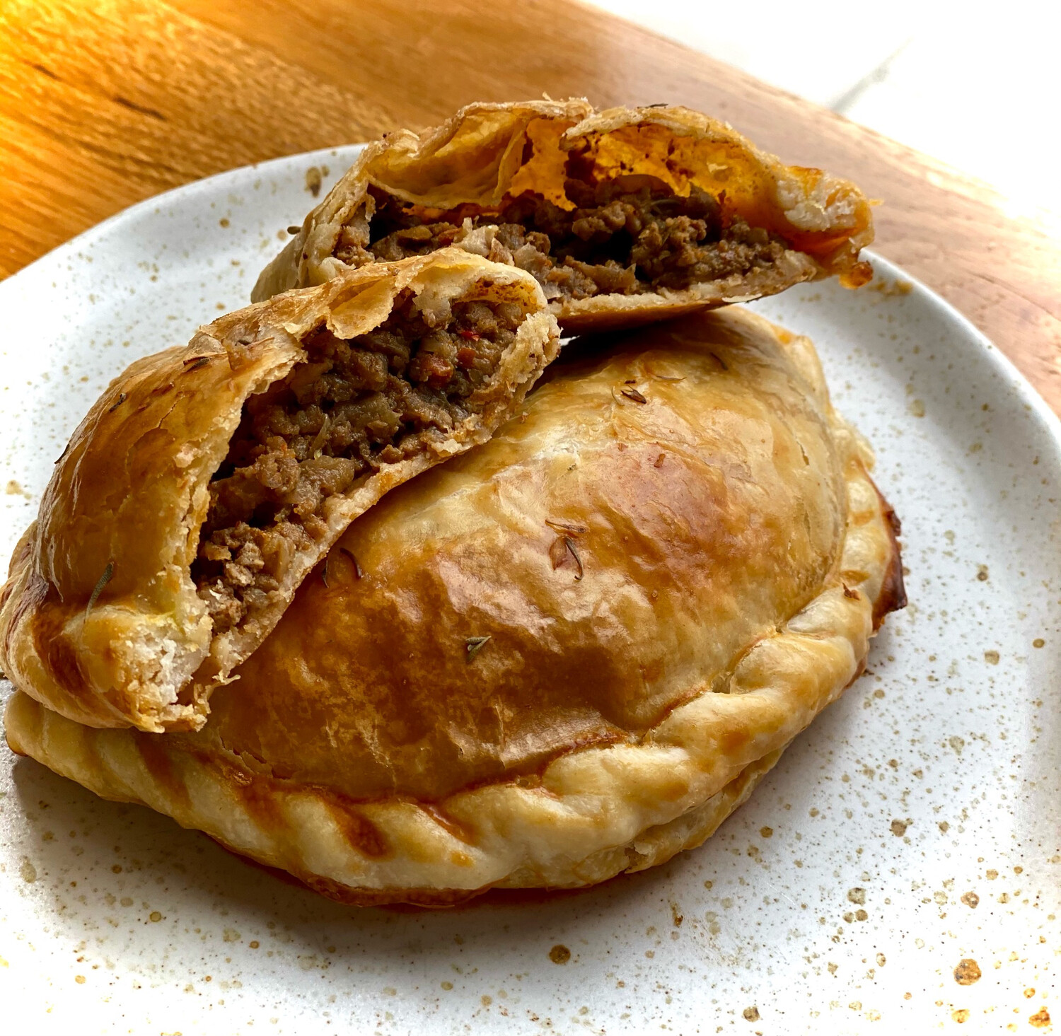 All-Natural Beef Empanadas (Two Pieces)