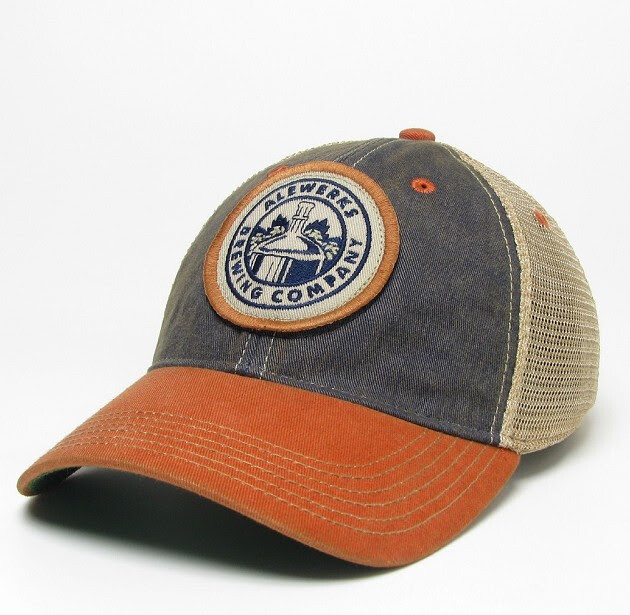Navy/Orange Trucker Hat
