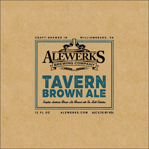 Tavern Brown Ale 32oz Crowler