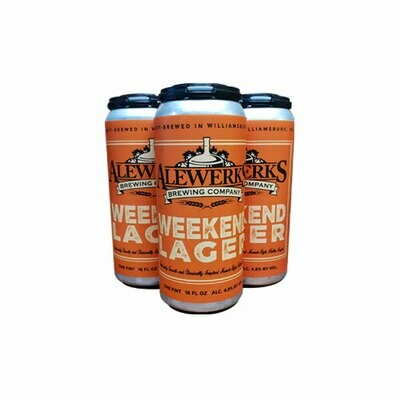 Weekend Lager 4-Pack 16oz Cans