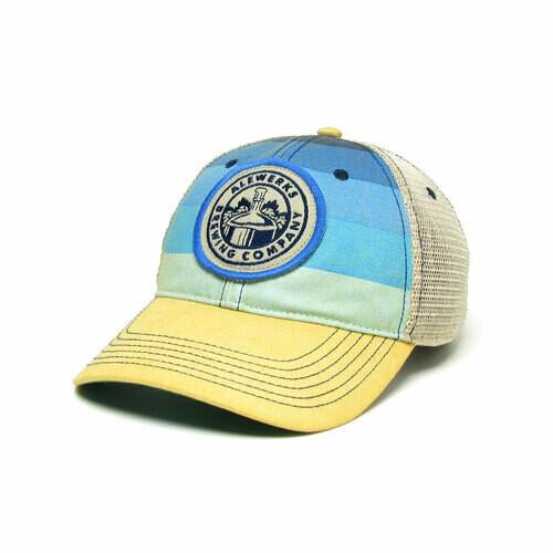 Legacy Cap - Blue Stripe Round
