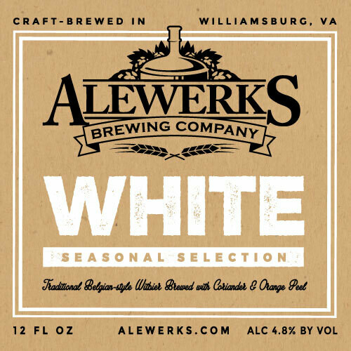 White Ale 32oz Crowler