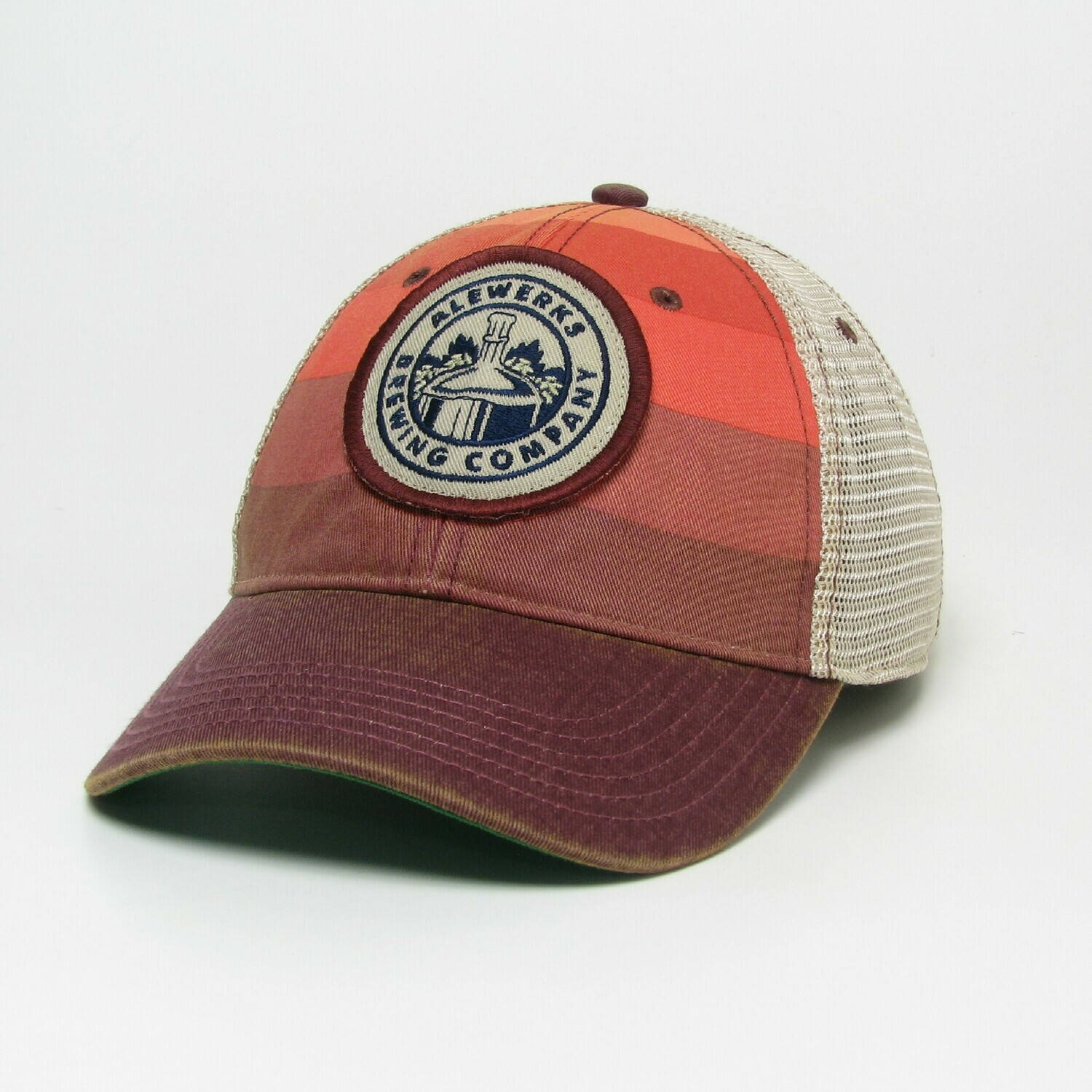 Legacy Cap - Red Stripe Round