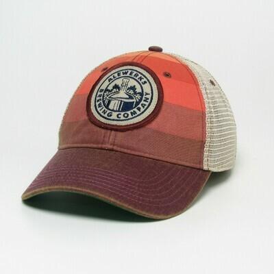 Legacy Cap - Red Stripe Round