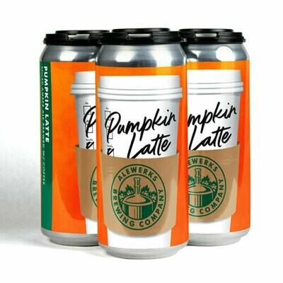 Pumpkin Latte 4-Pack 16oz Cans