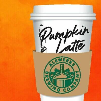 Pumpkin Latte 32oz Crowler