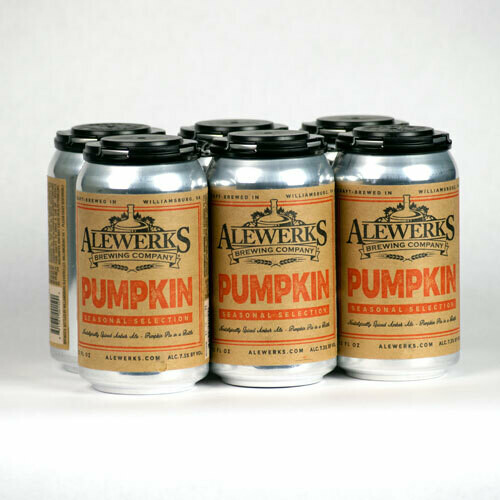 Pumpkin Ale 6-Pack 12oz Cans