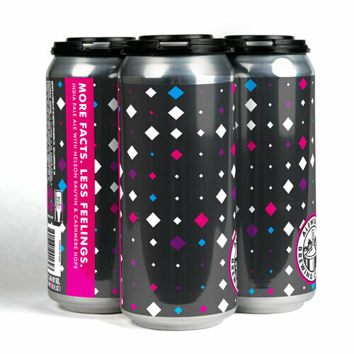 More Facts Less Feelings 4-Pack 16oz Cans