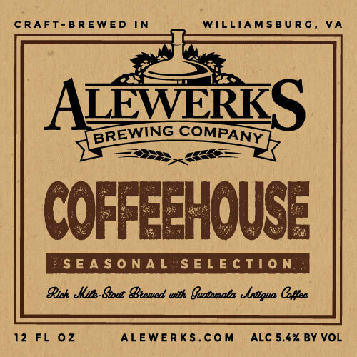 Coffeehouse Stout 32oz Crowler