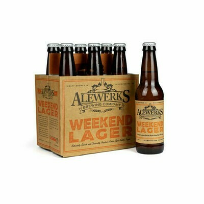 Weekend Lager 6Pack 12oz Bottles