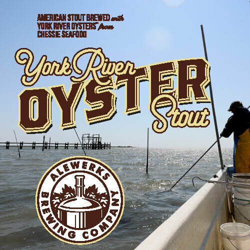 Oyster Stout 32oz Crowler