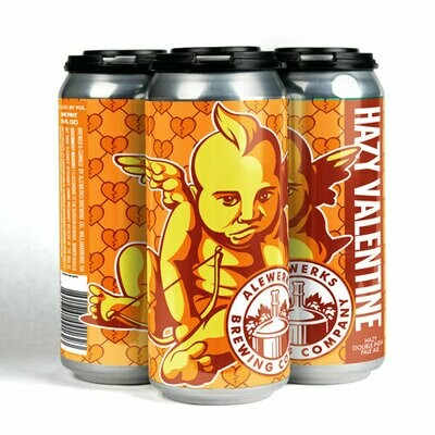Hazy Valentine 4pack 16oz Cans