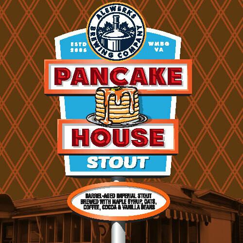 Pancake House Stout 32oz Crowler