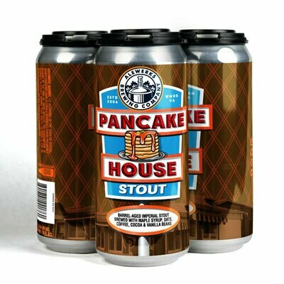Pancake House Stout 4Pack 16oz Cans