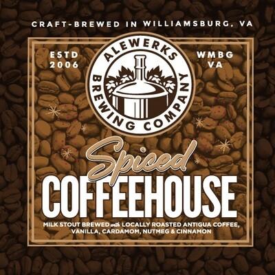 Spiced Coffeehouse 32oz Crowler