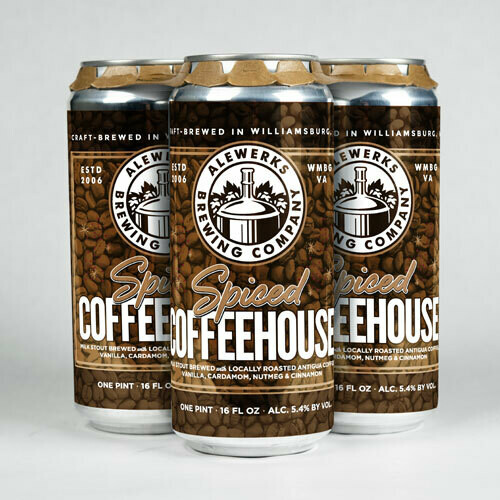 Spiced Coffeehouse 4Pack 16oz Cans