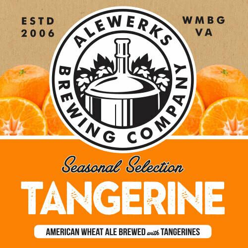 Tangerine Wheat Ale 32oz Crowler