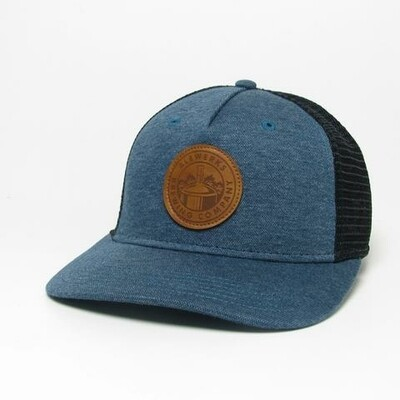 Leather Roadie Hat